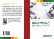 Bookcover of Práticas pedagógicas no ensino de função: uma abordagem antropológica