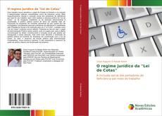 """Bookcover of O regime jurídico da """"Lei de Cotas"""""""