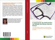 Bookcover of A população de deficientes no Estado de Minas Gerais, Brasil
