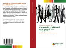 A educação profissional para pessoa com deficiência的封面