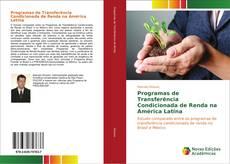Capa do livro de Programas de Transferência Condicionada de Renda na América Latina