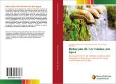 Capa do livro de Detecção de hormônios em água