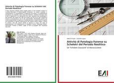 Capa do livro de Attività di Patologia Forense su Scheletri del Periodo Neolitico