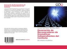 Capa do livro de Generación de Reconocedores de Gramáticas Independientes del Contexto