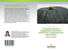 Bookcover of Государственная поддержка сельского хозяйства: современные ориентиры