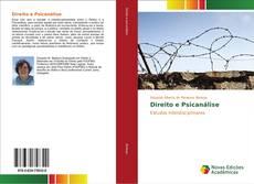 Capa do livro de Direito e Psicanálise