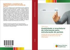 Capa do livro de Usabilidade e arquitetura da informação para estruturação de portais