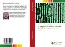 Capa do livro de A objetividade dos valores