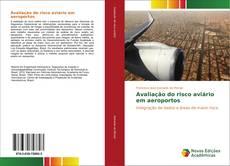Capa do livro de Avaliação do risco aviário em aeroportos