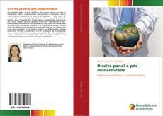Capa do livro de Direito penal e pós-modernidade