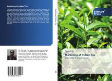 Capa do livro de Marketing of Indian Tea