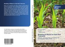 Обложка Breeding of Maize for Acid Soil Tolerance