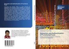 Capa do livro de Extraction and Authentication of Functional Food