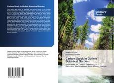 Bookcover of Carbon Stock in Gullele Botanical Garden