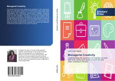 Bookcover of Managerial Creativity