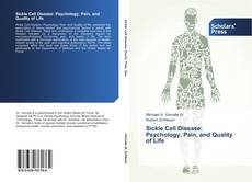 Buchcover von Sickle Cell Disease: Psychology, Pain, and Quality of Life