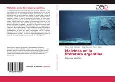 Обложка Malvinas en la literatura argentina