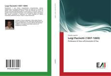 Buchcover von Luigi Pacinotti (1807-1889)