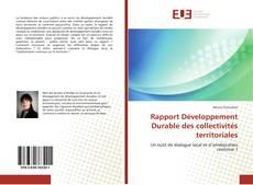 Обложка Rapport Développement Durable des collectivités territoriales