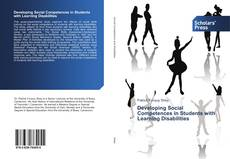Bookcover of Developing Social Competences in Students with Learning Disabilities