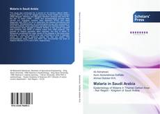 Couverture de Malaria in Saudi Arabia