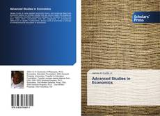 Bookcover of Advanced Studies in Economics