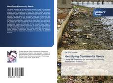 Bookcover of Identifying Community Needs