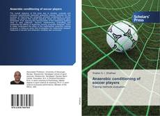 Bookcover of Anaerobic conditioning of soccer players