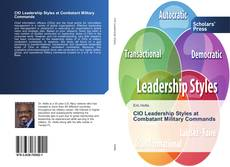 Bookcover of CIO Leadership Styles at Combatant Military Commands