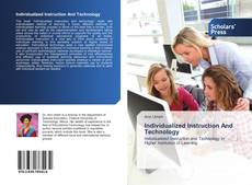 Capa do livro de Individualized Instruction And Technology