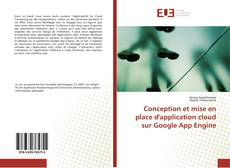 Buchcover von Conception et mise en place d'application cloud sur Google App Engine