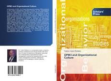 Borítókép a  OPM3 and Organizational Culture - hoz