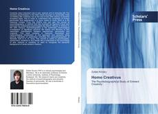 Bookcover of Homo Creativus