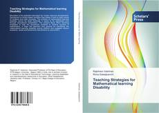 Bookcover of Teaching Strategies for Mathematical learning Disability