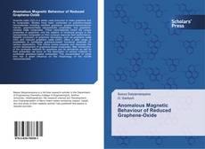 Обложка Anomalous Magnetic Behaviour of Reduced Graphene-Oxide