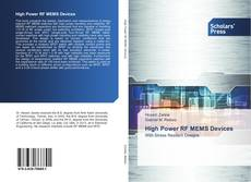 Bookcover of High Power RF MEMS Devices