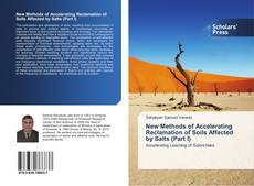 New Methods of Accelerating Reclamation of Soils Affected by Salts (Part I) kitap kapağı