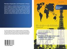 Petroleum Exploration and Production in Kenya的封面