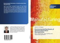 Capa do livro de Environmental Synthesis of Antimicrobial Silver Nanoparticles