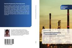 Couverture de Chemical Engineering Thermodynamics