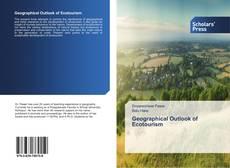 Capa do livro de Geographical Outlook of Ecotourism