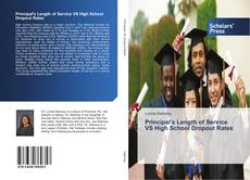 Couverture de Principal's Length of Service VS High School Dropout Rates