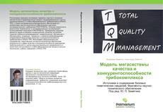 Borítókép a  Модель мегасистемы качества и конкурентоспособности трибокомплекса - hoz