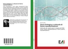 Обложка Storia biologica e culturale di Homo neanderthalensis