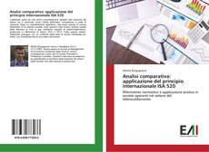Buchcover von Analisi comparativa: applicazione del principio internazionale ISA 520