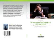 Bookcover of Основы синологического исследования