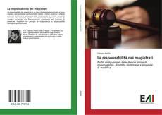 La responsabilità dei magistrati kitap kapağı