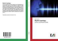 Обложка Rhythm typology: