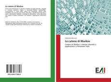 Bookcover of Le catene di Markov