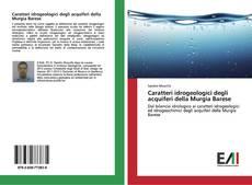 Bookcover of Caratteri idrogeologici degli acquiferi della Murgia Barese